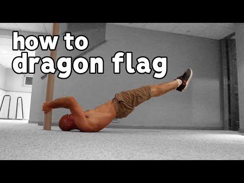 Dragon Flag Progression | Core Strength For Calisthenics