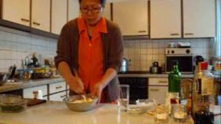 Chinese steamed pork buns. Nikuman,  part 1/ 2  中國蒸豬肉菜飽