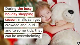 Malls Host 'Low-Sensory' Santa Visits for Kids with Autism