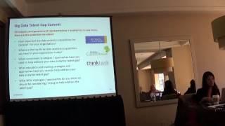 Big Data Talent Gap Analysis in Canada