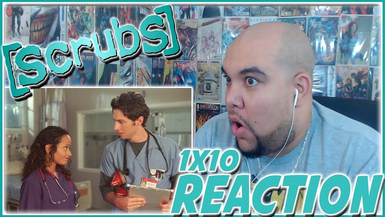 Scrubs Season 1 Episode 10 REACTION