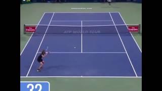Gasquette vs Zverev: 49 coups