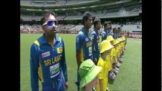 Sri Lankan National Anthem - Kanchana Sandamali @ The MCG
