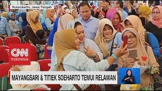 Download Video Mayangsari & Titiek Soeharto Temui Relawan, Mega Ziarah MP3 3GP MP4