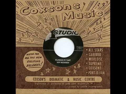 Roy Richards - Summertime - (Studio One / Dub Store Records - DSR-CS7-010)