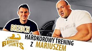 Ćwiczenia na brzuch - Hardkorowy Trening z Mariuszem Mrozem! 2017 Video