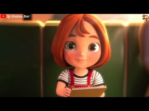 Heart Touching Animation Story || Song. Tu Jo Mila 😢