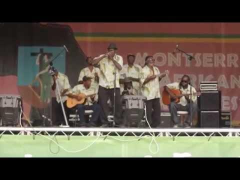 Rude Boyz String Band Reprise Performance  Montserrat African Music Festival
