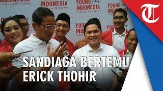 Download Video Sandiaga Soal Pertemuan dengan Erick Thohir: Saya dan Pak Erick Tak Perlu Ada yang Direkonsiliasi MP3 3GP MP4