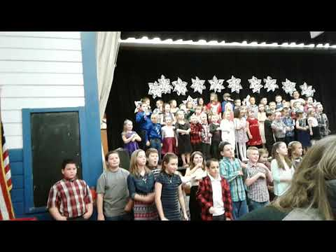 Latham School Elementary Song! Cottage Grove, Oregon!