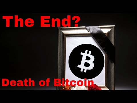 Will Bitcoin Continue To Sell Off?  END OF BITCOIN???