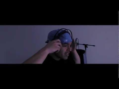 RnB Artist Tony Sway Recording Vocals