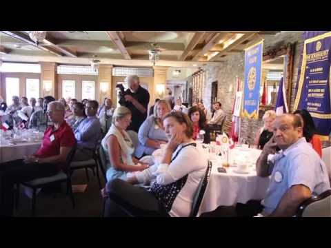 Brian Crombie's Presentation at Rotary Club, 30th August 2016