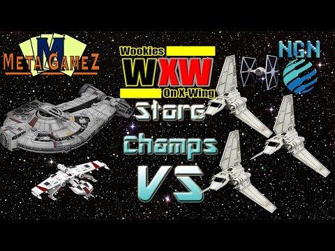 X-Wing Store Championship (UNB 2016) | Game 2: Dash/Miranda vs Shuttle Swarm