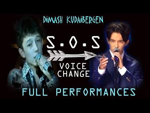 DIMASH - S.O.S (2012-2019) VOICE EVOLUTION (FULL PERFORMANCES)