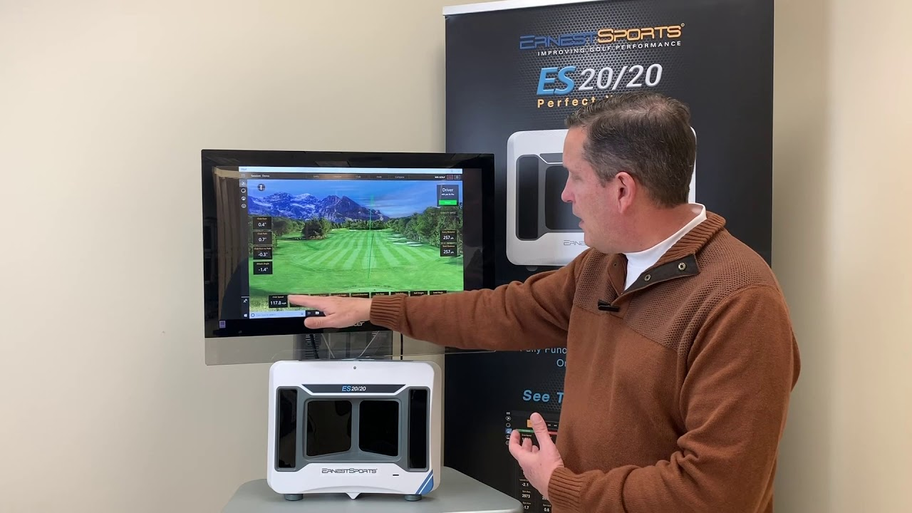 Best Launch Monitors 2020 ES 2020 Perfect Vision Launch Monitor   Ernest Sports