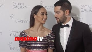 Jesse Metcalfe & Cara Santana | The Art of Elysium HEAVEN Gala 2015 | Red Carpet | MaximoTV Broll