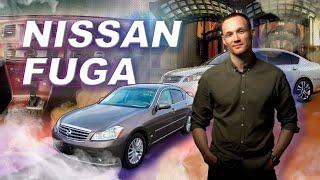 Обзор Nissan Fuga.  Сравнение 1 и 2 поколения