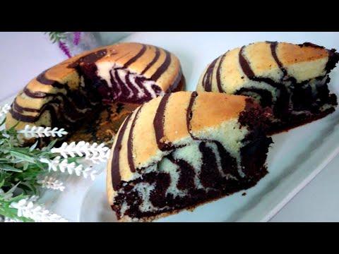 gâteau-zèbré-au-cacao-de-tous-les-jours😋🍫🍰