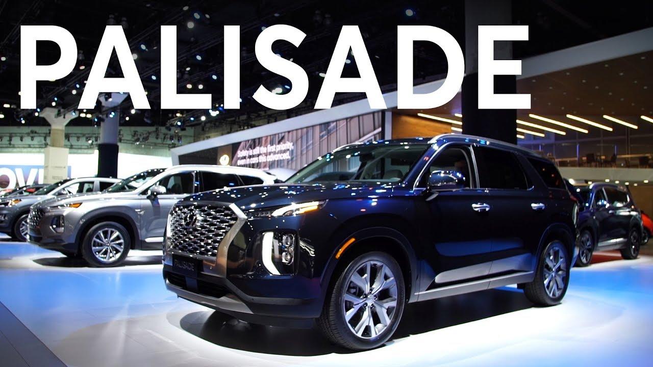 2018 La Auto Show 2020 Hyundai Palisade Consumer Reports Youtube