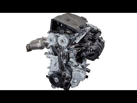 TOYOTA PRODUCTION SYSTEM: First Hybrid Powertrain Production in USA (Toyota Factory Manufacturing)
