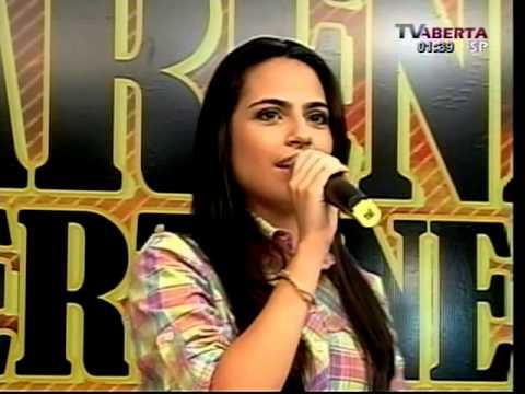 Bailarinas do programa Arena Sertaneja da TV Aberta De São Paulo  Bruna Garcia filha do Donizeti