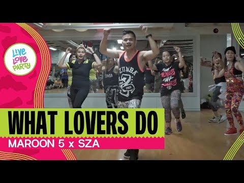 What Lovers Do by Maroon 5 | Live Love Party™ | Baguio Party Crew |  Zumba® | Dance Fitness