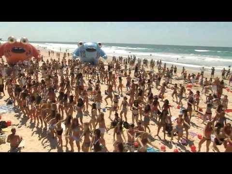 Israeli beach scene....