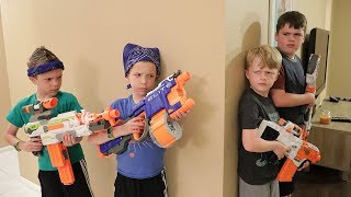 Nerf War:  Extreme Toys TV vs Twin Toys