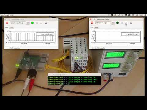 Machinekit + EtherCAT on Raspberry Pi 3 | MQTT broker latency test