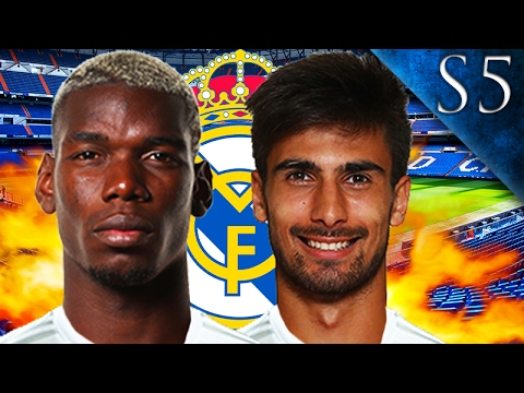 POGBA, GOMES SIGN! FIFA 17: REAL MADRID CAREER MODE S5 EP. 2
