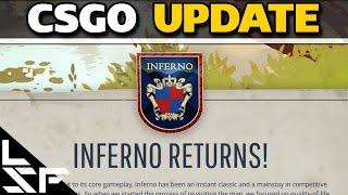 Video NEW INFERNO RELEASE! Sniper Scope change + Bhop Command - CSGO Update 10/13/16 download MP3, 3GP, MP4, WEBM, AVI, FLV November 2017