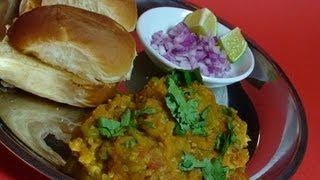 Pav Bhaji - Indian Vegetarian Street Food Recipe