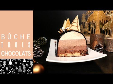🎅-bÛche-de-noËl-trois-chocolats-inratable-🎅
