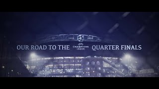 Ajax - Our Road to the Quarter Finals(Champions League 2018-2019 Highlights)#WEAREAJAX