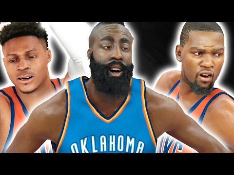 ACCEPTING EVERY TRADE CHALLENGE | 2012 OKC THUNDER | NBA 2K17 CHALLENGE