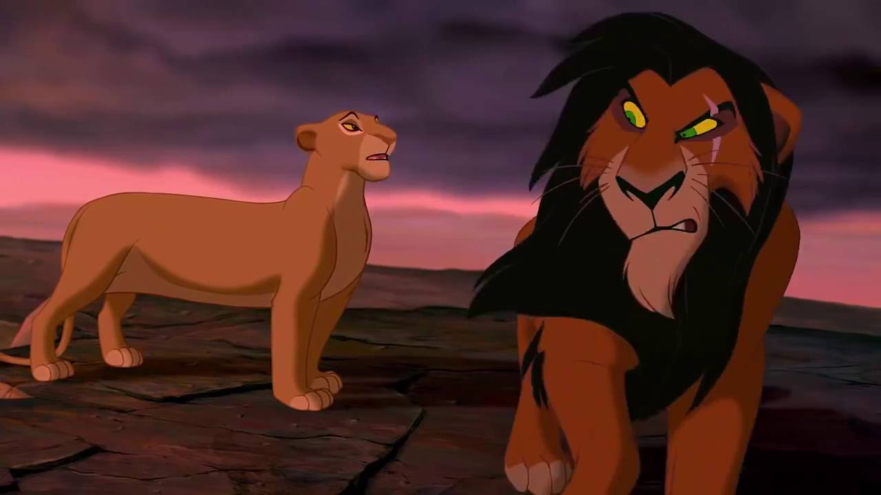 The Lion King Simba Confronts Scar Hd Youtube