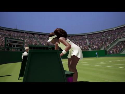 AO International Tennis: Wimbledon 2018 - Ladies' Singles Round 1: Arantxa Rus v Serena Williams