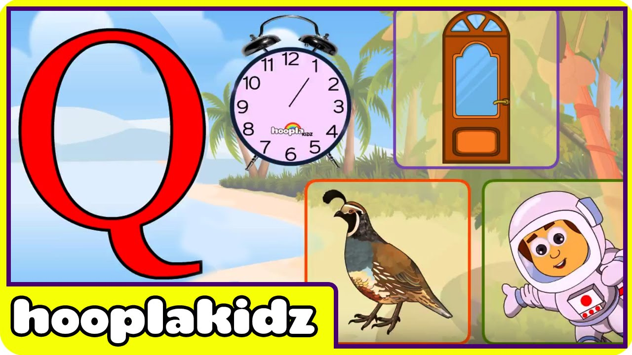 Learn About The Letter Q Preschool Activity