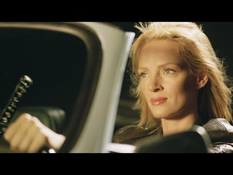 Kill bill car crash footage posted by Uma Thurman