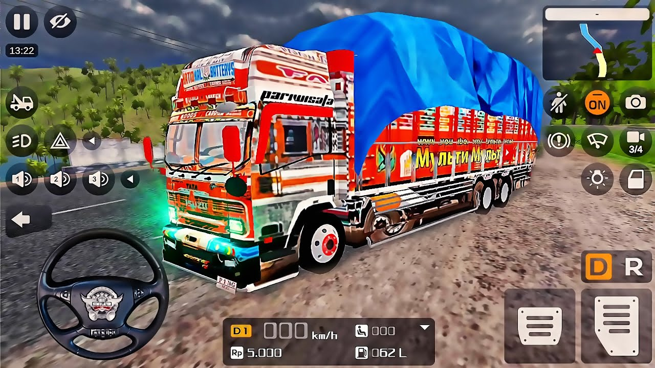 Download Bus Simulator Indonesia: Indian Tata Car Truck Transporter - Best Android GamePlay #8