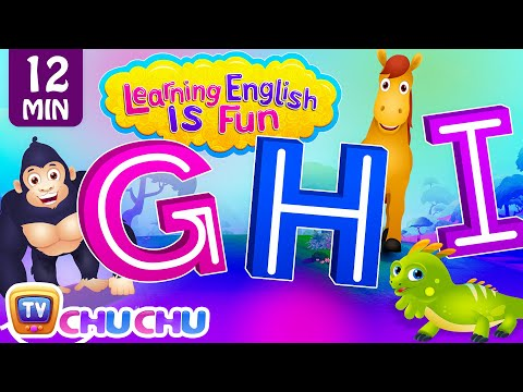 DEF Songs   Learning English Is Fun™   ChuChu TV Phonics & Words Learning For Preschool Children - วันที่ 21 Dec 2017