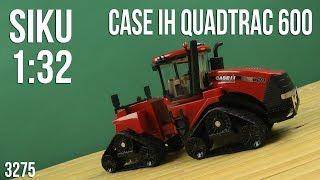 Распаковка Siku 1:32 Case IH Quadtrac 600 Красный 3275