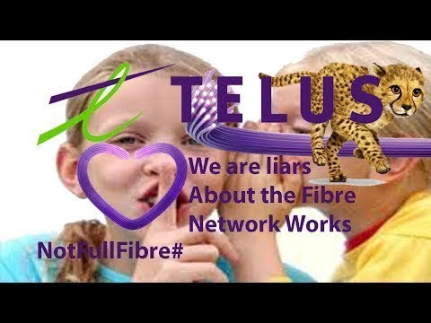 What Telus is not tell you about their FIBRE Network (SHAW VS TELUS) Video  Response