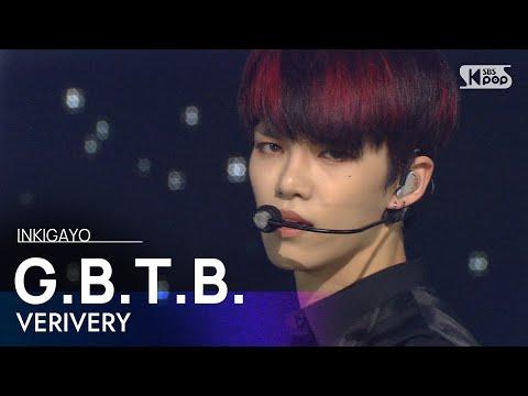 VERIVERY(베리베리) - G.B.T.B. @인기가요 inkigayo 20201025