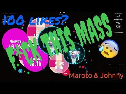 ⟲ Maroto & Johnny # 84 // INFINITE HUGE PARTY🤪 - Agar.io ⟲ thumbnail