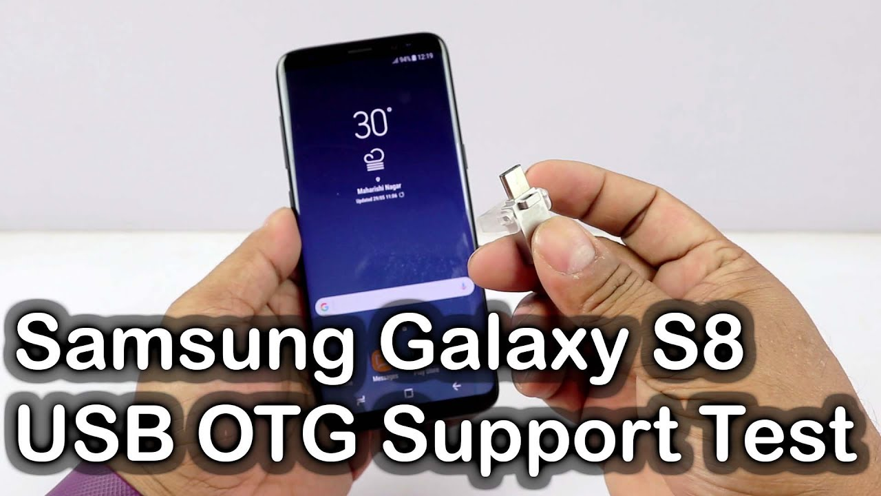 samsung galaxy s8 usb otg support test samsung galaxy s8 review nothing wired youtube. Black Bedroom Furniture Sets. Home Design Ideas