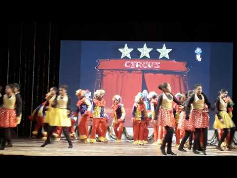 Dance of r.p.s cambrian academy bawre bawre song circus