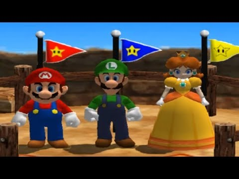Mario Party 4 - All Racing Minigames