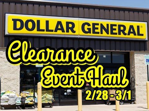 Dollar General CLEARANCE | 2/28 – 3/1 | Coupon Matchup | Shop with Sarah | 2-28